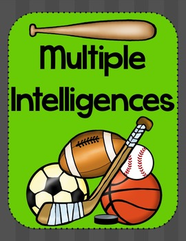 Sports-themed Multiple Intelligences GP {Other colors avai