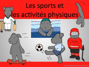 Sports with Pepper in French
