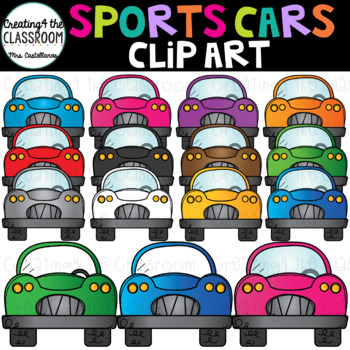 Sportscars Clip Art {Cars Clip Art}