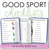 SOCIAL SKILLS Good Sport Checklists {12 Differentiated Checklists}