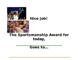 Sportsmanship Award of the Day
