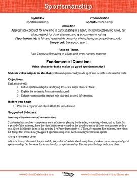 Creative PE Worksheets | Great Activities