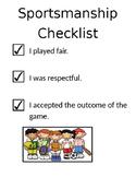 Sportsmanship Checklist