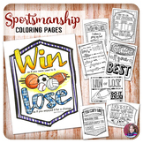 Sportsmanship Quote Coloring Activities