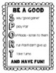 Sportsmanship Poem Activity for Field Day or Gym
