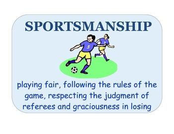 Sportsmanship Poster