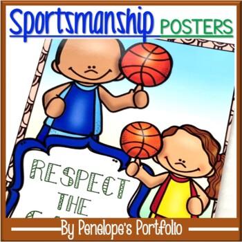 Sportsmanship Posters