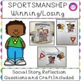 Sportsmanship Winning Losing Social Story
