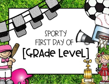 Sporty [First Days] Signs