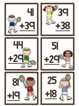 Sporty Kids: 10 Common Core Math Work Stations