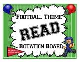 Sporty READ Rotation Board *Football Theme*