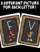 Sporty Theme Word Wall Letter Cards!
