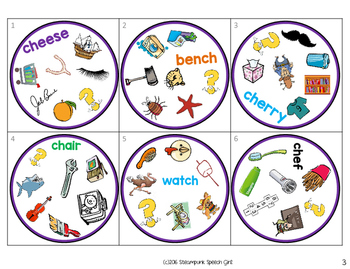 Spot 2! A Fun Card Game for Articulation Groups: SH/CH
