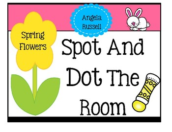 Spot And Dot The Room ~ Spring Flowers