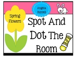 Spot And Dot The Room - Spring Flowers