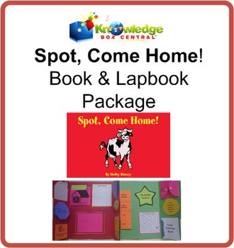 Spot, Come Home! Book & Lapbook Package