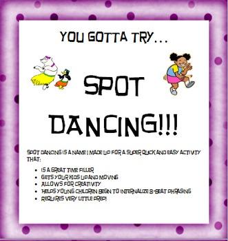 Spot Dancing Movement Activity