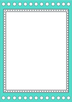 Spot & Dash borders / frames