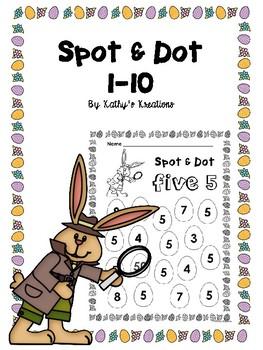 Spot & Dot 1-10 Eggs  (Dollar Deal)