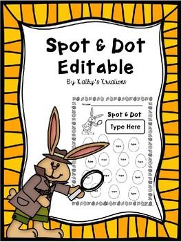 Spot & Dot Editable