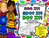Spot & Dot! Literacy Edition {letter recognition, CVC, syllables, rhyming}