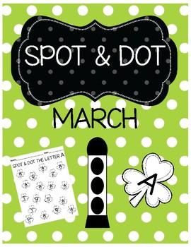 Spot & Dot The Letter (March)