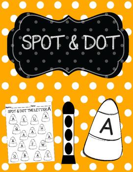 Spot & Dot The Letter (October)