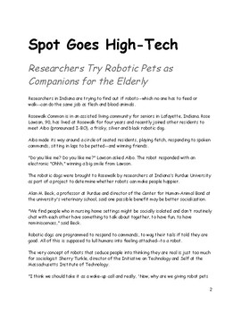 Spot Goes High-Tech (informational text) and resources