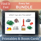 Speech Therapy Games | Speech and Language Mixed Groups Bundle