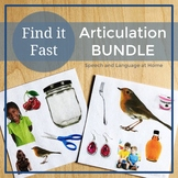 Find It Fast Articulation Games for Speech Therapy (Spot It)