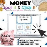 Spot It & CLICK It™ Money Game   Names and values of Canad