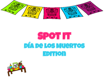 Spot It: Day of the Dead Game
