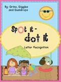 Spot It Dot It Letters