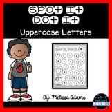 Spot It Dot It Uppercase Letters