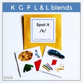 Spot It - K G F L and L blends - Articulation Games