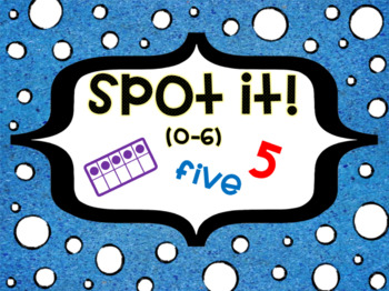 Spot It! Number recognition 0-10