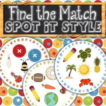 Spot It Style Find the Match