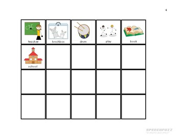 Spot Loves School Book Companion Materials for Speech-Language Therapy