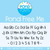 Free Font - Pond Free Me