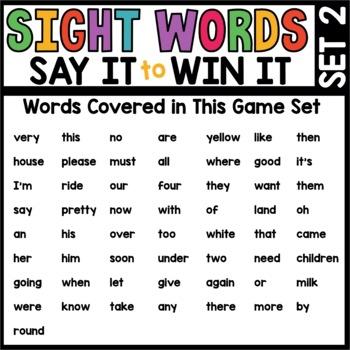 Spot That Word (1st Grade Bundle)