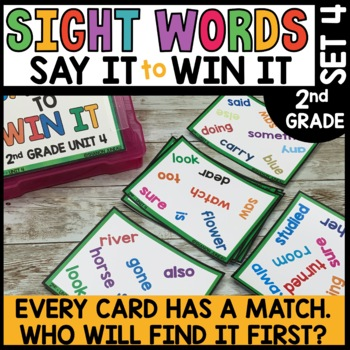 Spot That Word (2nd Grade Journeys Unit 4)