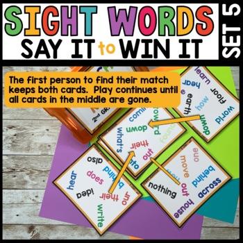 Spot That Word (2nd Grade Journeys Unit 5)