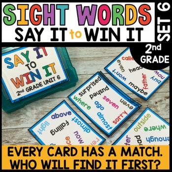 Spot That Word (2nd Grade Journeys Unit 6)