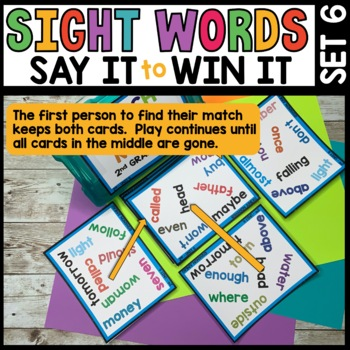 LITERACY CENTERS 2nd Grade Unit 6 [SPOT THAT WORD]