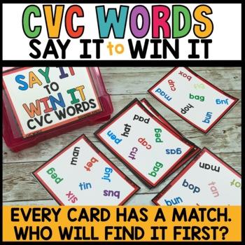 Spot That Word Game (CVC Practice)