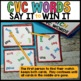 Spot That Word Game (CVC Practice)