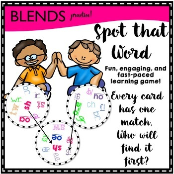 Spot That Word Game (sounds practice)