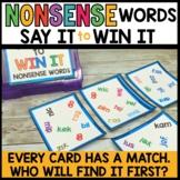 Nonsense Word Fluency Practice | Spot That Word Literacy Game