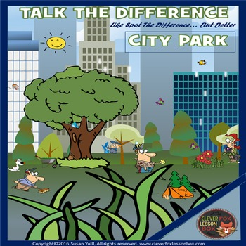 City Parks - Spot The Difference
