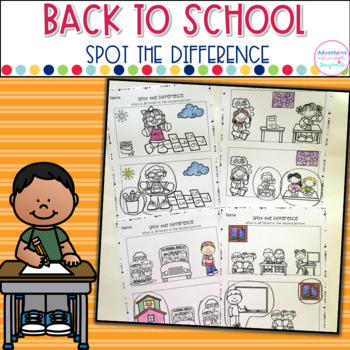 Spot The Difference- Back To School Edition